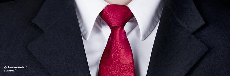 Business Entrepreneur mit Krawatte